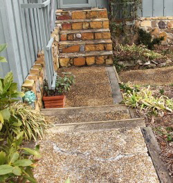 Building a flagstone walkway and garden entrance – Johntheplantman's on
