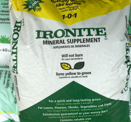 Ironite is a good supplement for trace elements