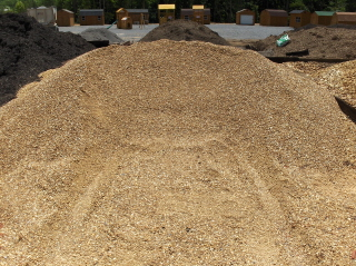 If you need more than a few bags of pea gravel, buy it in bulk