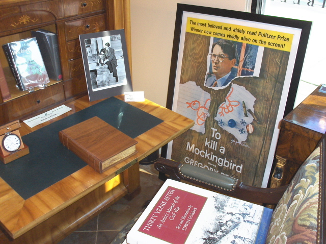 """To Kill a Mockingbird"" 50th anniversary display"
