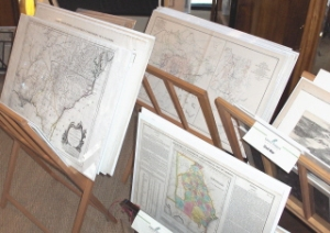 A collection of old maps is rather interesting