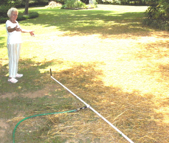 Build a wonderful garden sprinkler with pvc pipe and Rain Bird nozzles  (1/6)