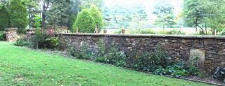 A rock garden entrance