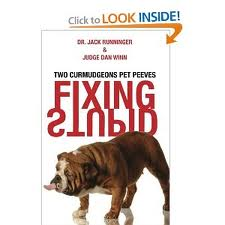 "Jack Runninger's book ""Fixing Stupid"" available on Amazon"