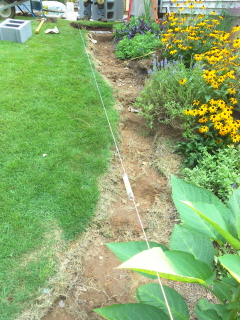 Rock garden steps with a retaining wall--part one (5/6)