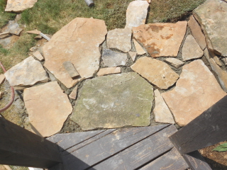 Building stone steps with a retaining wall—part two (5/6)