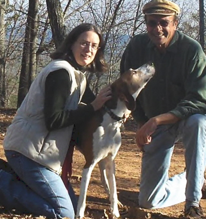 A conference with the editor takes a twist. Dekie, John, and the coon dog