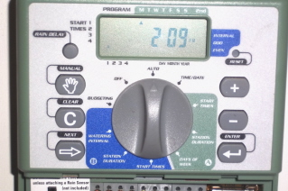 Orbit irrigation controller--inexpensive and easy
