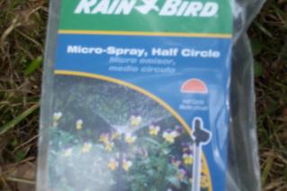 micro spray half circle nozzles
