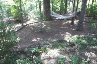The hammock area needed to be turned into a special place
