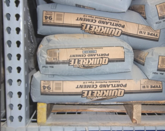 Portland cement mixed with sand is more durable than ready mixes