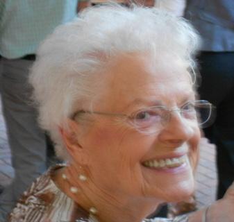 A proud grandmother