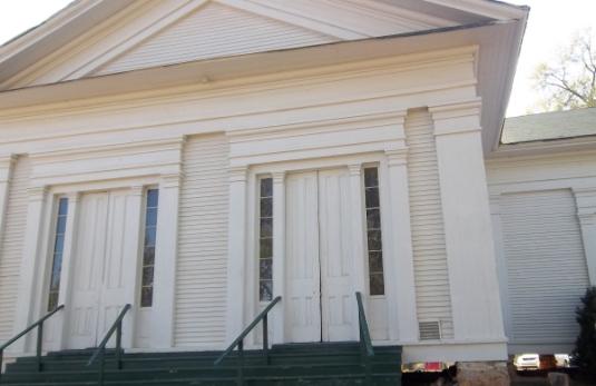 Stilesboro Academy, Just outside of Cartersville, Ga.