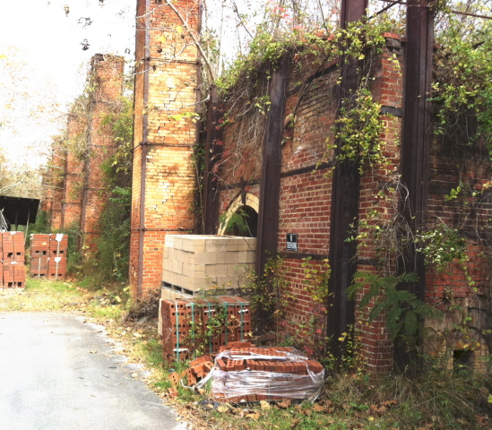 The old brick kilns in Plainville, Ga.