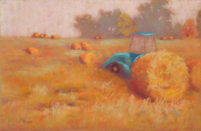 The Hay Baler, A painting by my friend, Randy Eidson