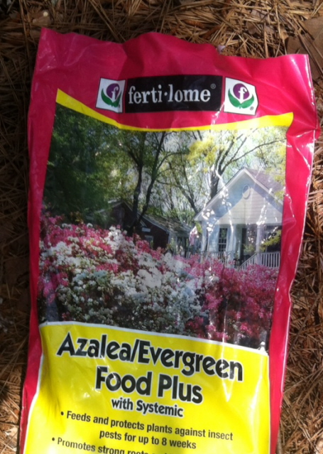 azalea fertilizer