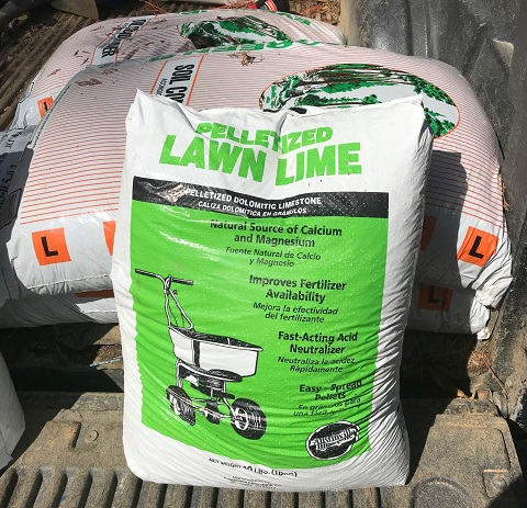 lime for potting mix